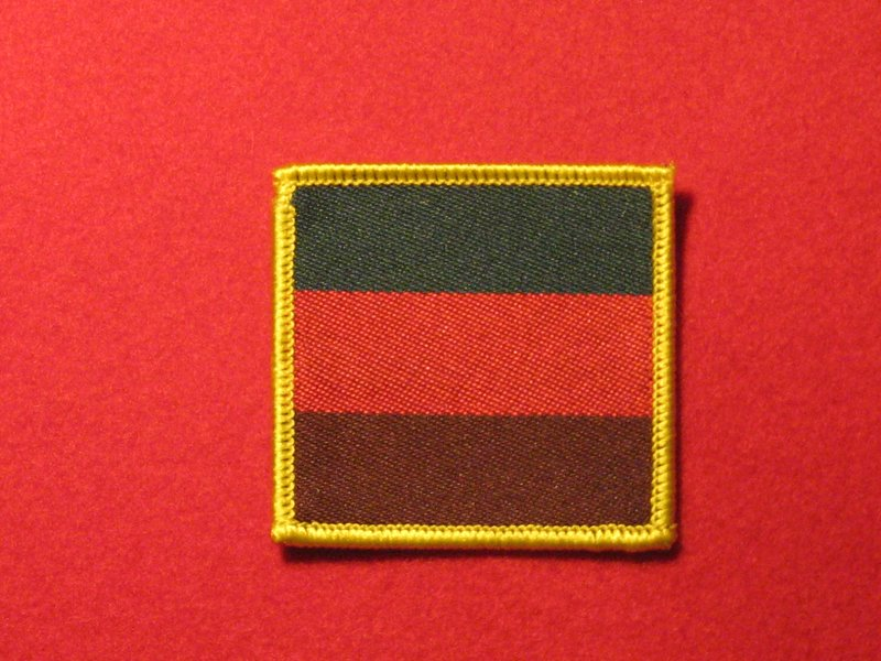 BADGE. BRITISH ARMY ROYAL TANK REGIMENT TRF