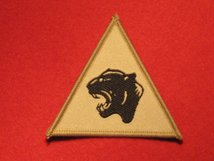 BRITISH ARMY 19TH MECHANISED BRIGADE FORMATION BADGE BUFF
