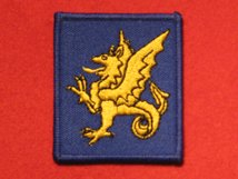 BRITISH ARMY 43RD INFANTRY DIVISION WESSEX FORMATION BADGE WW2
