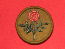 BRITISH ARMY 55TH INFANTRY DIVISION WEST LANCASHIRE FORMATION BADGE