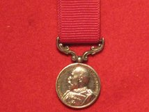 MINIATURE ARMY LSGC MEDAL LONG SERVICE GOOD CONDUCT MEDAL EDWARD VII CONTEMPORARY MEDAL EF MM0346