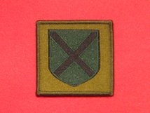 BRITISH ARMY 52ND LOWLAND BRIGADE FORMATION BADGE GREEN SHIELD PRE 2002 BADGE