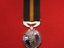 FULL SIZE ULSTER DEFENCE REGIMENT SERVICE MEDAL UDR MEDAL EIIR REPLACEMENT MEDAL