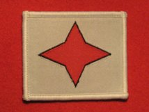 BRITISH ARMY 6TH INFANTRY DIVISION FORMATION BADGE STAR WW2