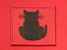 BRITISH ARMY 56TH LONDON INFANTRY DIVISION FORMATION BADGE CAT TAIL RIGHT FACING WW2 BADGE