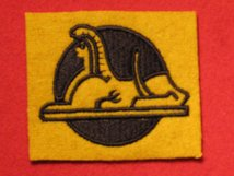 BRITISH ARMY 56TH INDEPENDENT INFANTRY BRIGADE FORMATION BADGE SPHINX LEFT FACING WW2 BADGE