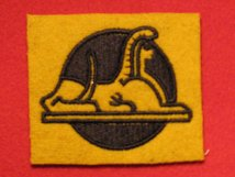 BRITISH ARMY 56TH INDEPENDENT INFANTRY BRIGADE FORMATION BADGE SPHINX RIGHT FACING WW2 BADGE