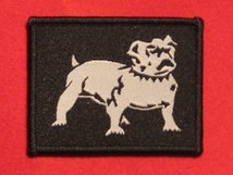 BRITISH ARMY EASTERN COMMAND FORMATION BADGE WW2 DOG FACING RIGHT