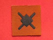 BRITISH ARMY 18TH INFANTRY DIVISION FORMATION BADGE WW2 WINDMILL