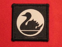 BRITISH ARMY 51ST INDEPENDENT INFANTRY BRIGADE FORMATION BADGE SWAN FACING LEFT WW2