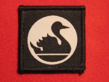 BRITISH ARMY 51ST INDEPENDENT INFANTRY BRIGADE FORMATION BADGE SWAN FACING RIGHT WW2
