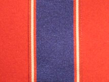 FULL SIZE ROYAL VICORIAN ORDER RVO CVO MVO MEDAL NECK RIBBON 44MM WIDE MEDAL RIBBON