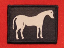 BRITISH ARMY 26 ENGINEER REGIMENT TRF FORMATION BADGE WHITE HORSE