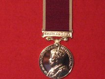 FULL SIZE ARMY LSGC LONG SERVICE GOOD CONDUCT GV CROWNED REPLACEMENT MEDAL