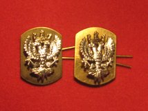 MERCIAN REGIMENT MILITARY COLLAR BADGES