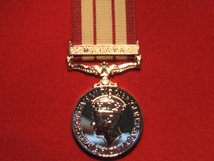 FULL SIZE NAVAL GENERAL SERVICE MEDAL 1915 62 WITH MALAYA CLASP GVI REPLACEMENT MEDAL