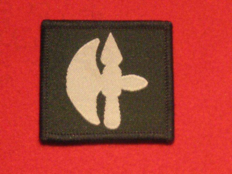 BRITISH ARMY 102 LOGISTICS BRIGADE FORMATION BADGE GREEN HALBEARD