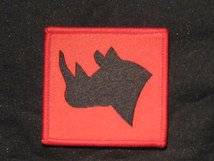 BRITISH ARMY EAST AFRICA PEACE SUPPORT RHINO FORMATION BADGE