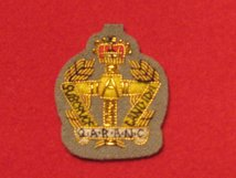 QARANC OFFICERS BERET BADGE
