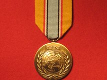 FULL SIZE UNITED NATIONS ANGOLA MEDAL UNAVEM MEDAL