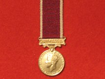 MINIATURE ARMY LSGC LONG SERVICE GOOD CONDUCT MEDAL GVI WITH AUSTRALIA BAR
