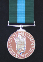 FULL SIZE NORTHERN IRELAND HOME SERVICE MEDAL