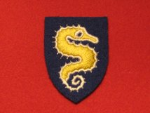 BRITISH ARMY 27TH ARMOURED DIVISION FORMATION BADGE WW2 RIGHT FACING