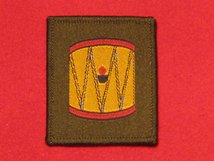 BRITISH ARMY 45TH INFANTRY DIVISION WESSEX FORMATION BADGE DRUM BADGE WW2