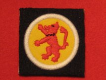 BRITISH ARMY 15TH INFANTRY DIVISION SCOTTISH FORMATION BADGE WW2