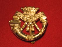 DUKE OF CORNWALL LIGHT INFANTRY CAP BADGE