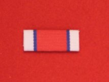 COMMEMORATIVE HORS DE COMBAT MEDAL RIBBON SEW ON BAR