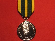 FULL SIZE QUEENS VOLUNTEER RESERVE MEDAL REPLACEMENT