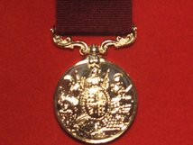 FULL SIZE ARMY LSGC LONG SERVICE GOOD CONDUCT MEDAL QV QUEEN VICTORIA REPLACEMENT MEDAL