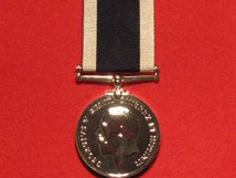 FULL SIZE ROYAL NAVY LSGC MEDAL GV COINAGE HEAD