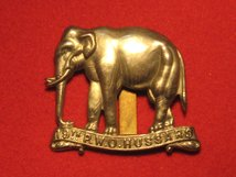 19TH P W O HUSSARS CAP BADGE