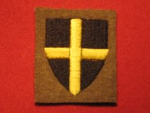 BRITISH ARMY 38TH INFANTRY DIVISION FORMATION BADGE WW2 WELSH