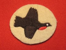 BRITISH ARMY 8 CORPS FORMATION BADGE WW2 1ST TYPE PARTRIDGE